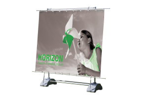 Außendisplay Horizon inkl. Digitaldruck