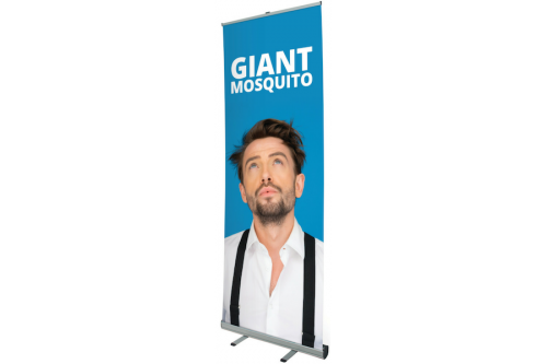 RollUp Giant Mosquito 1m x 3m inkl. Digitaldruck
