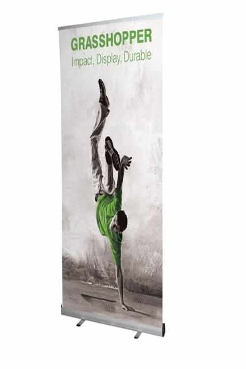 RollUp Banner Grasshopper 1000mm inkl. Digitaldruck