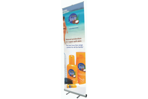 Giant Mosquito Roll-Up Banner 100cm